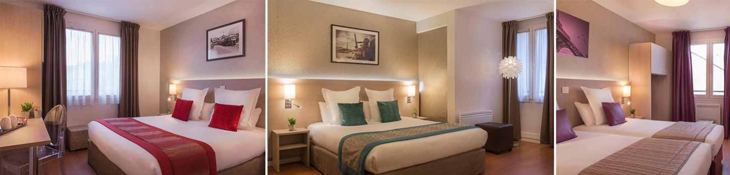Chambres - Hotel 75011 - Classic Hotel Bastille
