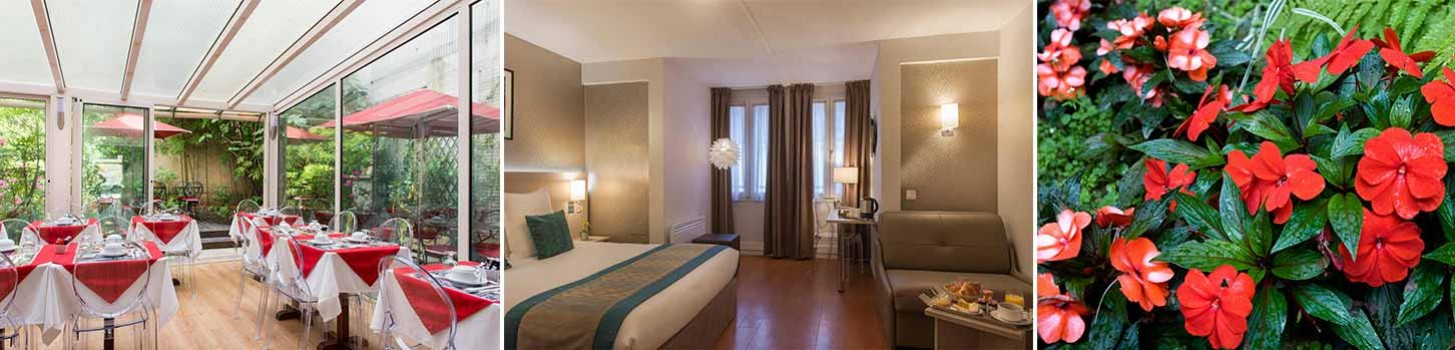Rooms - Hotel 11th - Classic Hotel Bastille