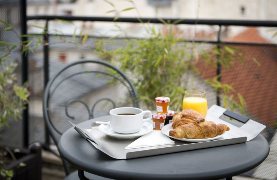 Breakfast terrace top floor - Classic Hotel Bastille